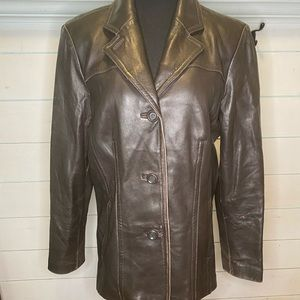 Avanti brown  Leather jacket